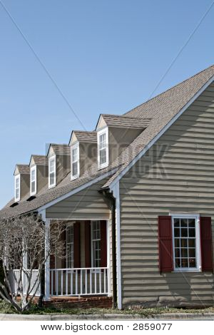 Building With Dormers