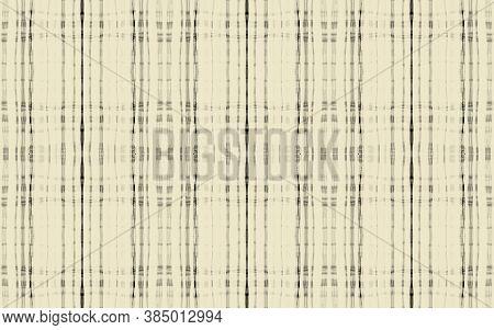 Grey Plaid Pattern. Seamless Tartan Fabric. Gingham Kilt. Black Abstract Scottish Repeat. Fall Plaid