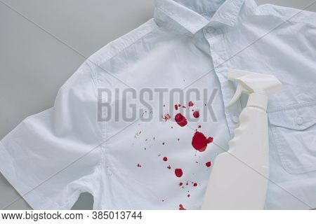 Blood Stains On Clothes And Stain Remover