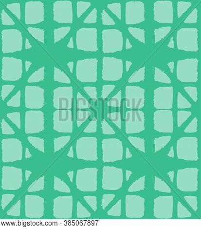 Japanese Tie Dye Seamless Pattern. Boho Arc Shell Print Glamour Kimono Textile. Luxurious Japanese C