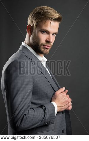 Most Businesses Explicit Saying Dress Code Professional Attire No Second Guessing. Man Well Groomed