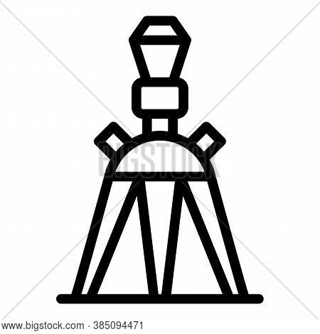 Tripod Stand Icon. Outline Tripod Stand Vector Icon For Web Design Isolated On White Background