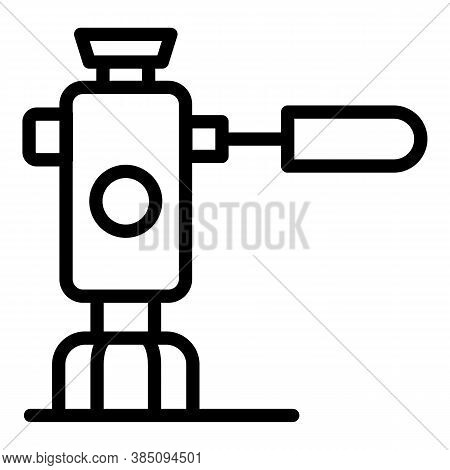 Tripod Rack Icon. Outline Tripod Rack Vector Icon For Web Design Isolated On White Background