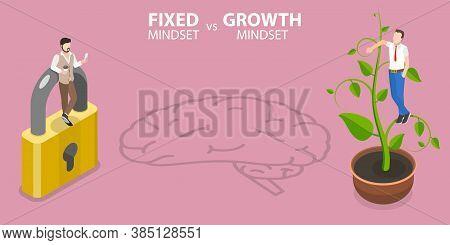 Fixed Mindset Vs Growth Mindset, Two Basic Mindsets That Shape Human Life.