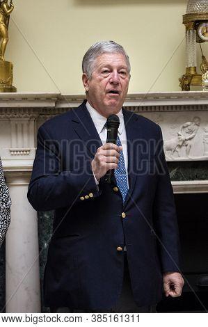 Belgrade, Serbia - May 14, 2016: Crown Prince Of Yugoslavia Alexander Karadjordjevic Having A Speech
