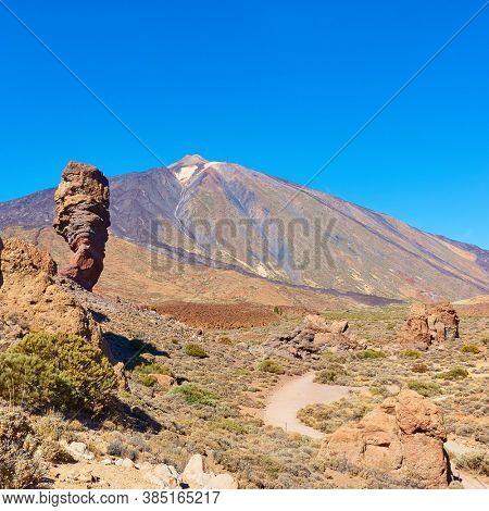 The Teide volcano (Pico del Teide) in Tenerife,  Canary Islands, Spain