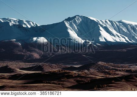 North Chui ridge of Altai mountains in Russia.