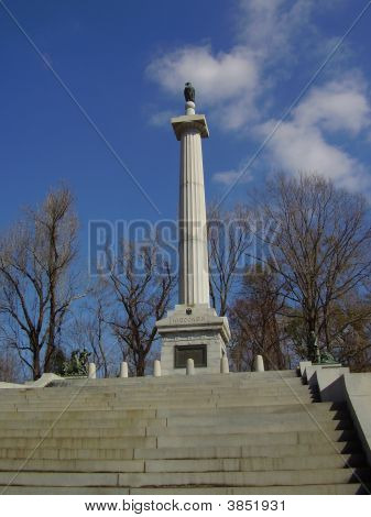 Wisconsin Monument In Vicksburg