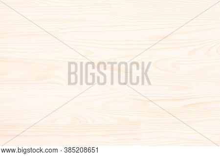 Light Wooden Background. Wood Texture With Natural Pattern. The Light Beige Wood Texture. The Horizo