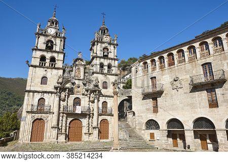 Santa Maria Das Ermidas Sanctuary In Ribeira Sacra. Galicia. Spain