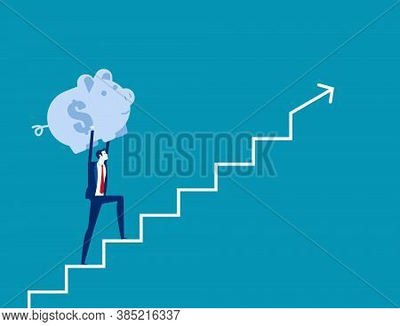 Business Finance Saving Growth. Business Finance And Economy