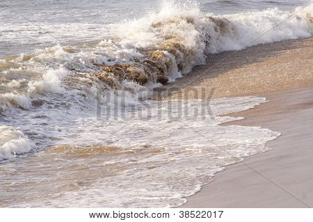 Soft Wave Of The Sea