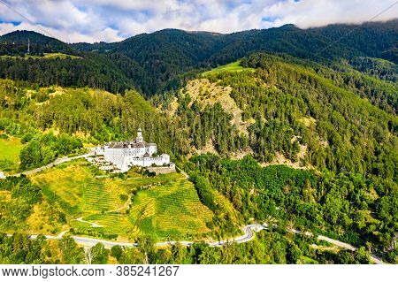 Marienberg Abbey, A Benedictine Abbey In South Tyrol, Northern Italy