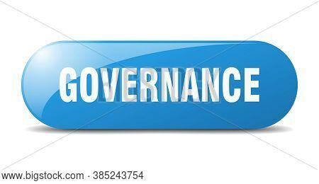Governance Button. Governance Sign. Key. Push Button.