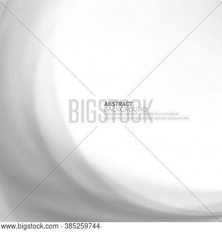 Gray Design Technology Background.abstract Background With Gray Waves.