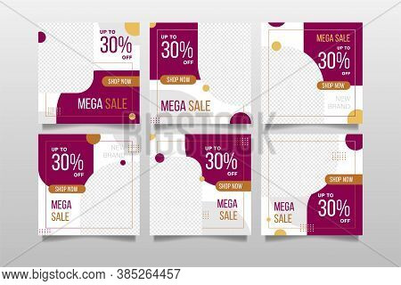 Fashion Sales And Social Media Post Template