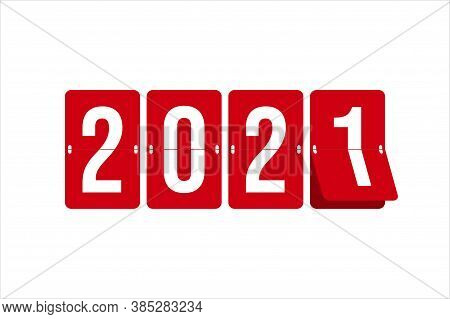 2021 Text, 2021 Design Illustration. 2021 New Years. Happy New Year 2021. 2021 Design Conceptual For