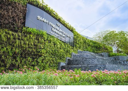 Samut Prakan, Thailand - July 28, 2020: Scenery Of  Siam Premium Outlets Bangkok Located On The East