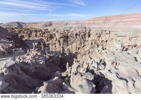 Unusual Fantasy Canyon in the Utah desert, USA.