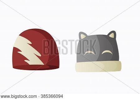 Headwear. Warm Headwear, Autumn And Winter Accessories. Fashion Headwear For Ladies And Gentlemen Vi