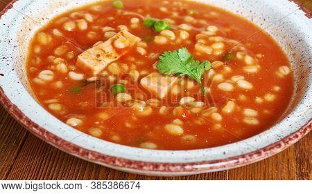 Sicilian Tomato Barley Soup