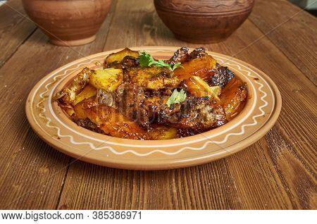 Pork  Caramelised Pineapple Adobo