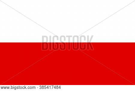 Vector Poland Flag, Poland Flag Illustration, Poland Flag Picture, Poland Flag Image,