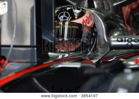 Vodafone Mclaren Mercedes Mp4-22 Fernando Alonso Spanish Spain F1 Sepang Malaysia 2007