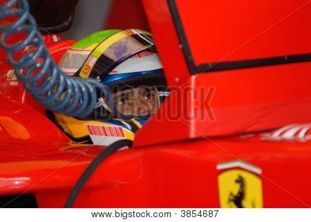 Scuderia Ferrari Marlboro F2007 Felipe Massa Brazil F1 Sepang Malaysia 2007