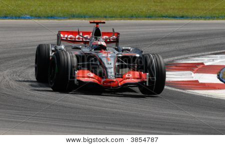 Vodafone Mclaren Mercedes Mp4-22 Fernando Alonso Spanish Spain F1 Sepang Malaysia 2007
