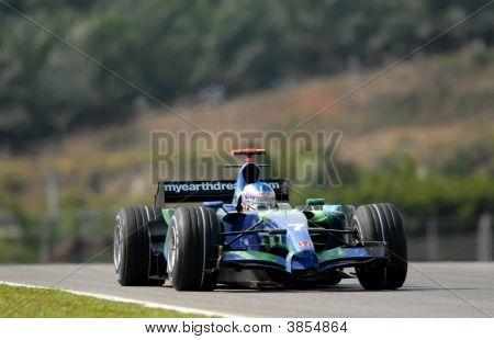 Honda Racing F1 Team Ra107 Jenson Button British Great Britain F1 Sepang Malaysia 2007