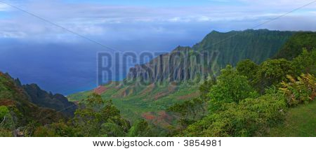 Mountains Of Kauai Hawaii