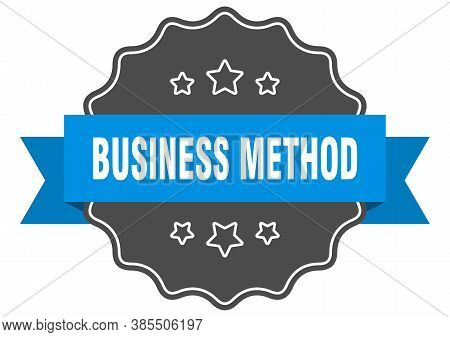 Business Method Label. Business Method Isolated Seal. Sticker. Sign