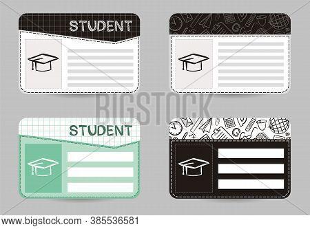 School Id Card, Personal Student Identification Card