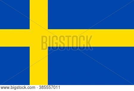 Vector Sweden Flag, Spain Flag Illustration, Sweden Flag Picture, Sweden Flag Image
