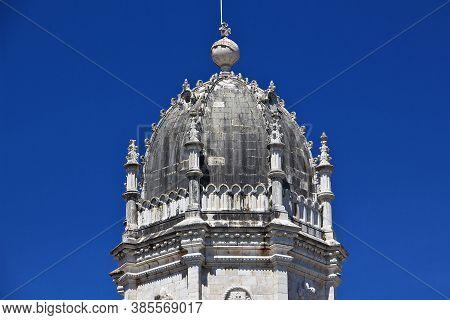 Jeronimos Monastery In Belem, Lisbon City, Portugal