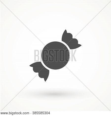 Candy Icon. Vector Candy Icon Symbol Vector