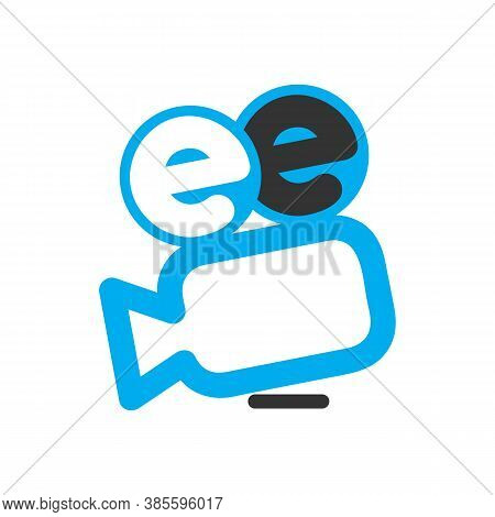 New Simple Modern Camera Symbol Movie Production Cinematography Logo Design Vector Illustrations
