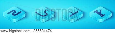 Set Isometric Industry Metallic Pipe, Industry Metallic Pipe, Industry Metallic Pipe And Industry Pi
