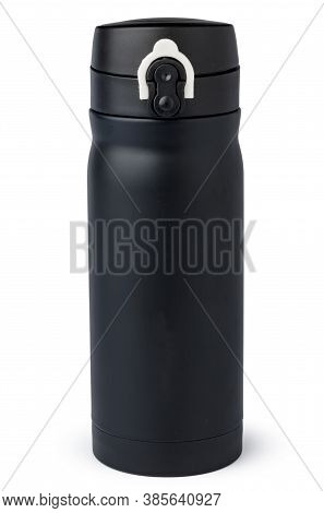 New Plastic Tumbler Cup On White Background