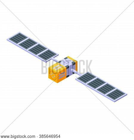 Space Station Pilot Icon. Isometric Of Space Station Pilot Vector Icon For Web Design Isolated On Wh
