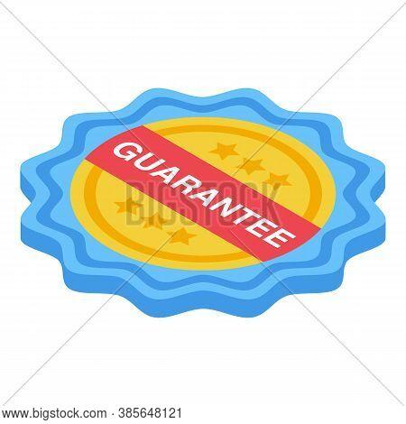 Quality Assurance Guarantee Icon. Isometric Of Quality Assurance Guarantee Vector Icon For Web Desig
