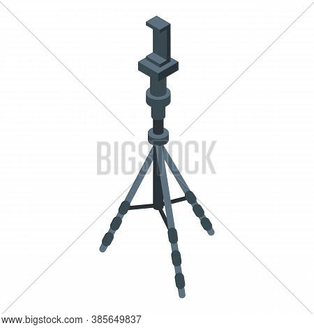 Plastic Tripod Icon. Isometric Of Plastic Tripod Vector Icon For Web Design Isolated On White Backgr