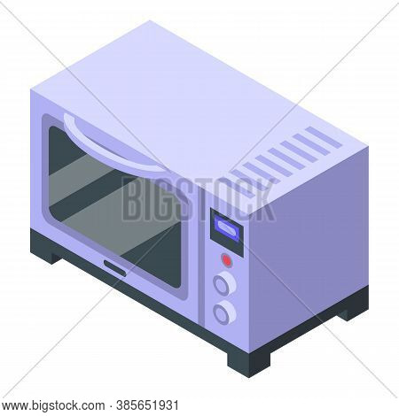 Convection Oven Icon. Isometric Of Convection Oven Vector Icon For Web Design Isolated On White Back