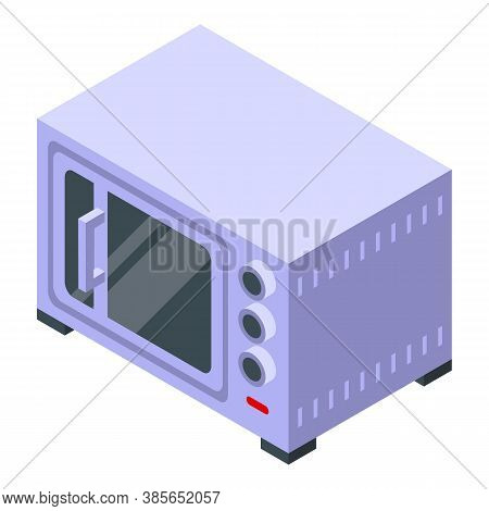 Convection Oven Hardware Icon. Isometric Of Convection Oven Hardware Vector Icon For Web Design Isol