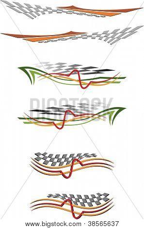 Vehicle Graphics, Stripe : Vinyl Ready poster