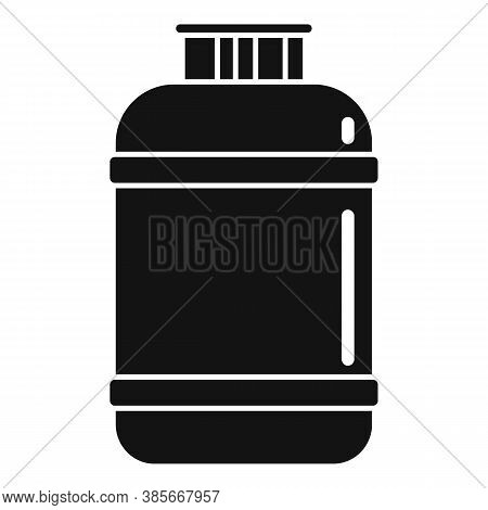 Gas Cylinder Lpg Icon. Simple Illustration Of Gas Cylinder Lpg Vector Icon For Web Design Isolated O