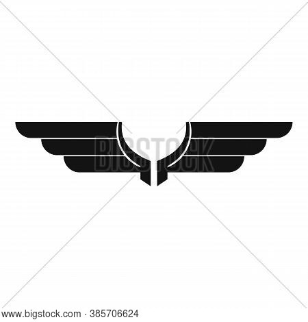 Freedom Wings Icon. Simple Illustration Of Freedom Wings Vector Icon For Web Design Isolated On Whit