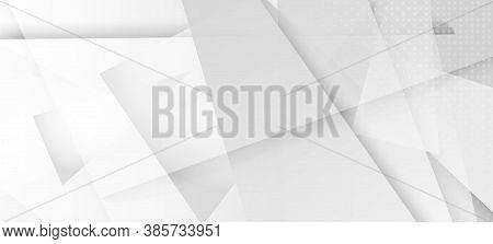 Halftone Modern Gray Vector Background. Grain Pattern. Halftone Wallpaper. Geometric Dots Texture. E