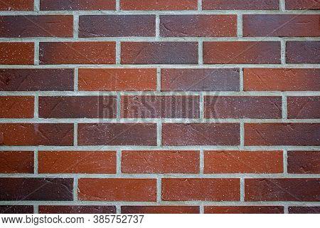 Architecture. Home Design. Red Brick Wall Background. Red Brick Wall Background Texture With High Re